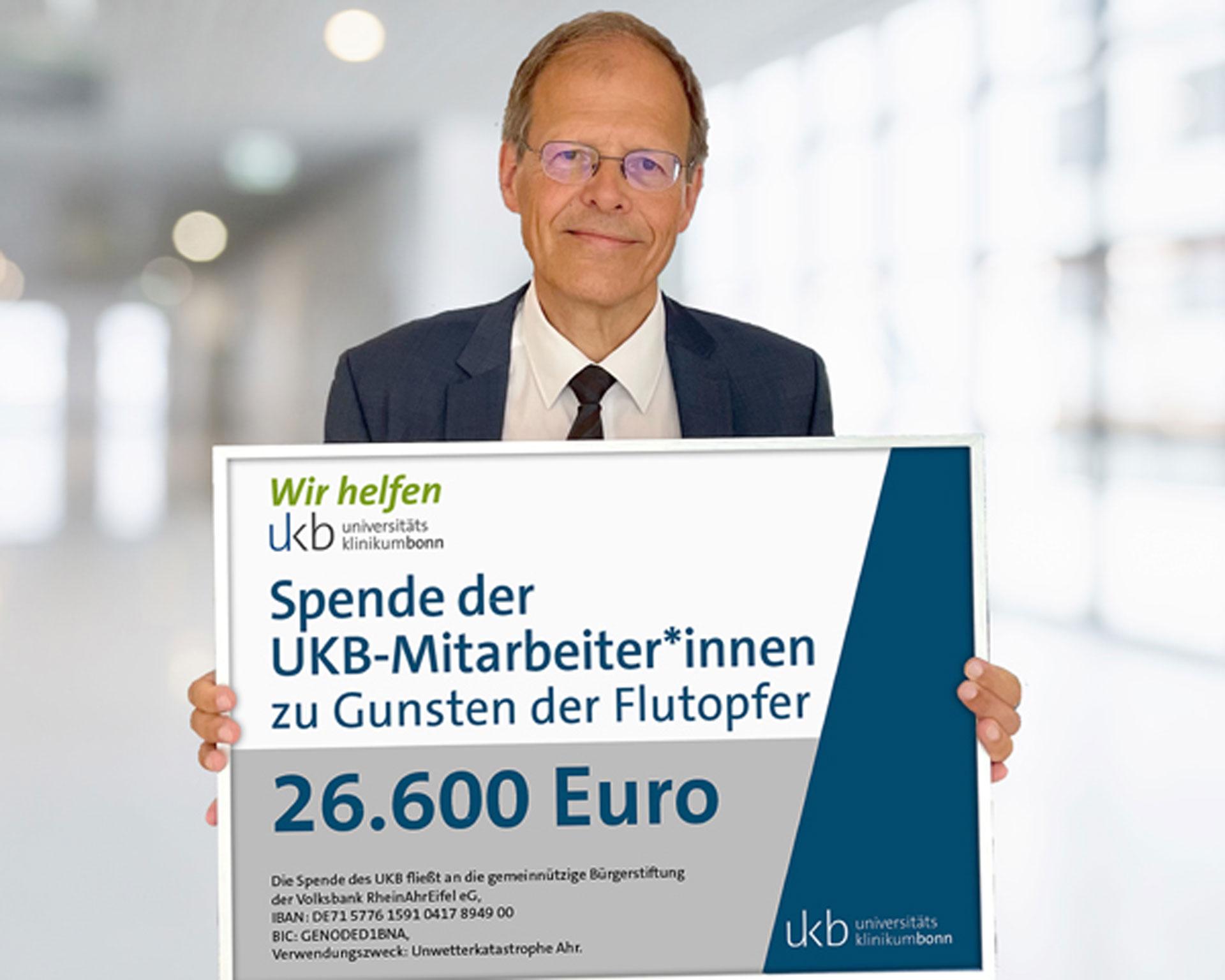 Spende Hochwasserkatastrophe Prof. Holzgreve